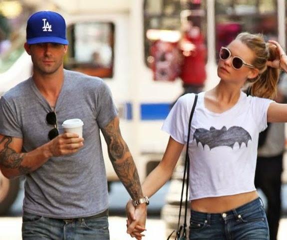 Matrimonio per Adam Levine dei Maroon 5 e Behati Prinsloo