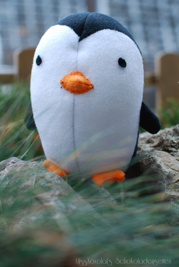 DIY FLUFFIES Pinguin