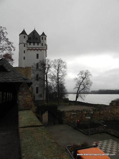 O castelo dos bispos de Mainz em Eltville