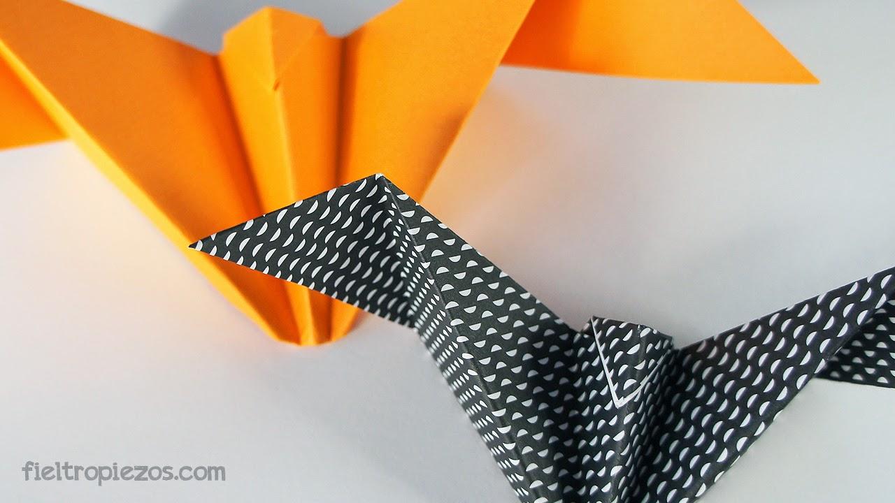 bat origami easy