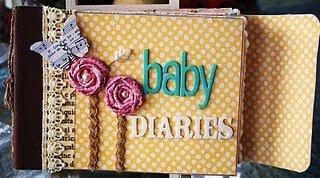 crazy about mini albums baby diaries mini album