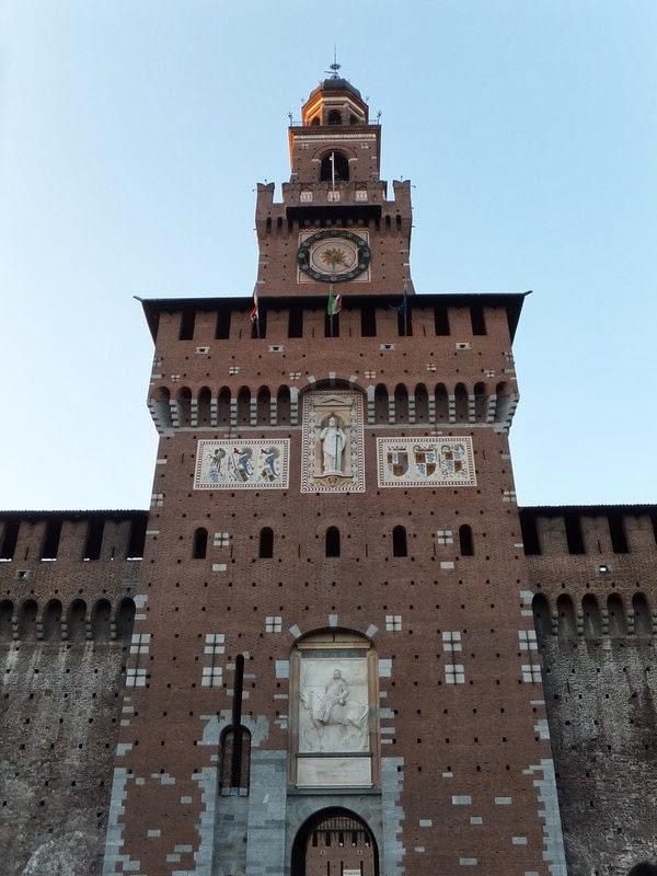 milan italie Castello Sforzesco