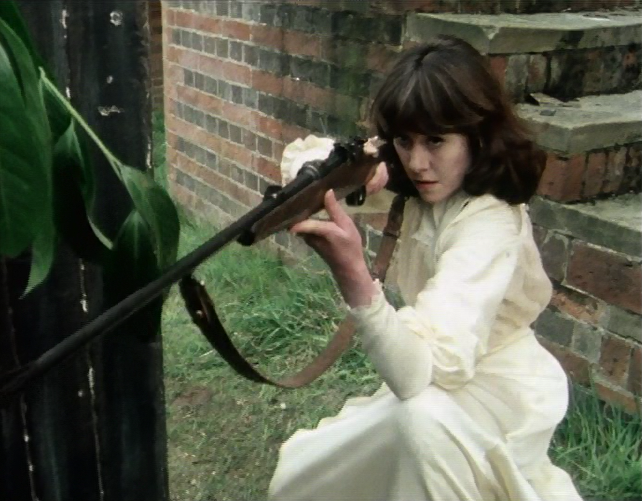 Sarah Jane, good with firearms