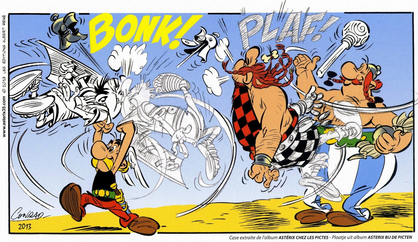 Citaten Asterix En Obelix : Bunt t asterix bij de picten