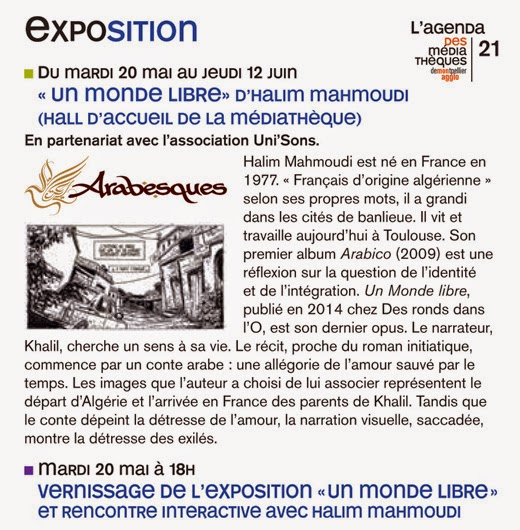 Festival Arabesques Montpellier - Vernissages : + d'infos