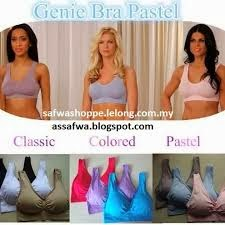 READY STOCK :GENIE BRA ( (RM35 not include postage)
