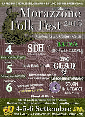 Locandina Morazzone Folk Fest 2015