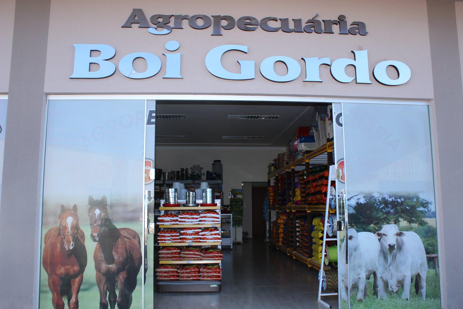 AGROPECUÁRIA BOI GORDO.