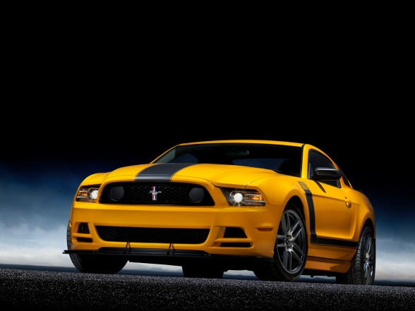 2013 ford mustang boss 302 yellow color car preview by 3mbil cars. Black Bedroom Furniture Sets. Home Design Ideas