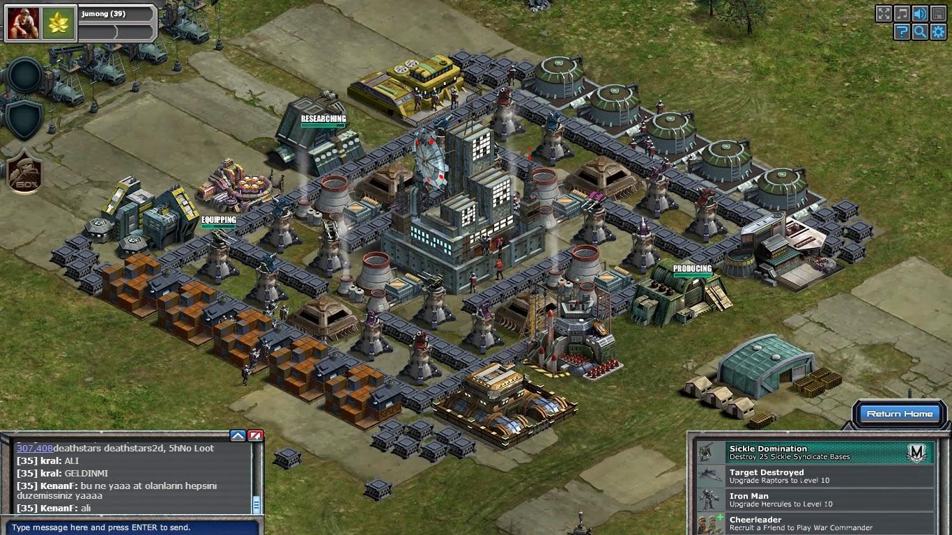 War Commander: War Commander Bases Level 39 Layout Examples