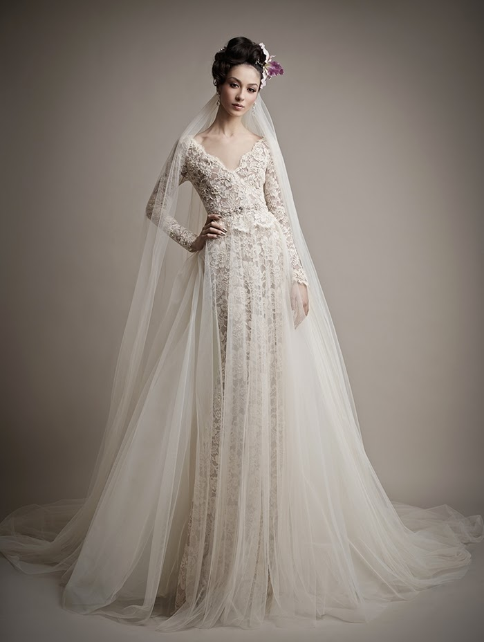 abito sposa stile barocco
