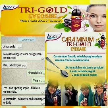 TRI GOLD EYE CARE LEGACY SECRET