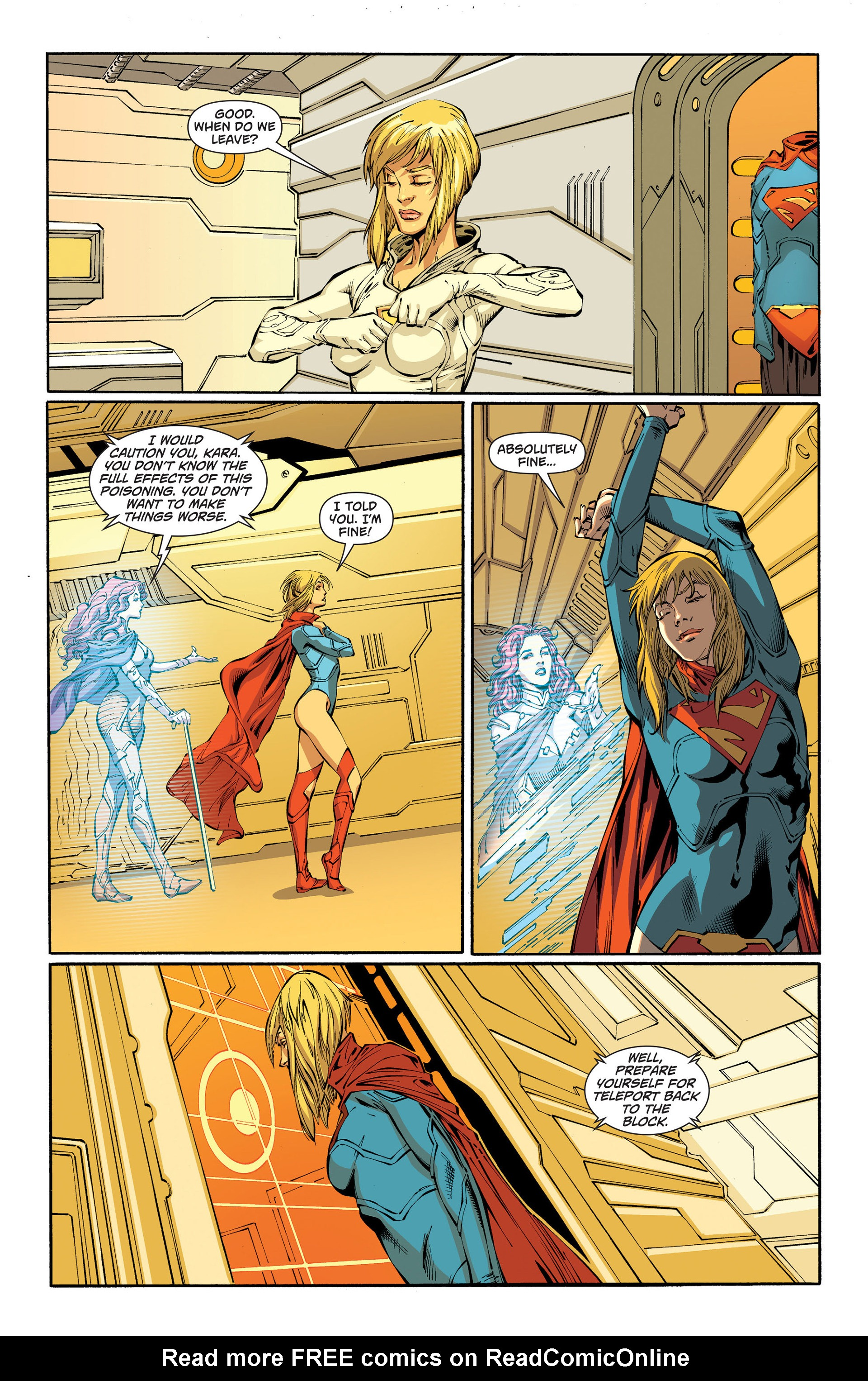 Supergirl (2011) Issue #18 #20 - English 8