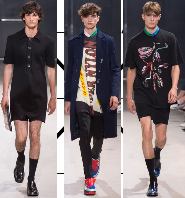 raf simons mens spring 2014 embroidered t-shirts