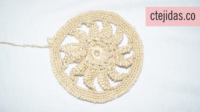 Granny para Colcha a Crochet