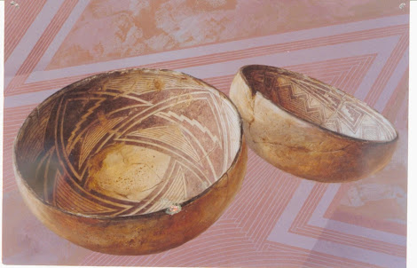 """Hopi Dough Bowls 48""""X60"""""""