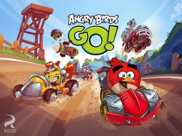Angry Birds Go! App iTunes App By Rovio Entertainment Ltd - FreeApps.ws
