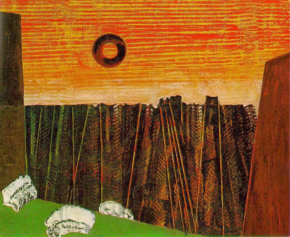 Fishbone Forest (Max Ernst, 1927)