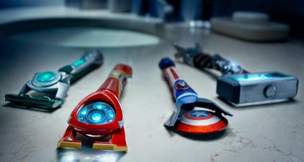 Gillette maquinillas afeitar Vengadores: Era de Ultrón