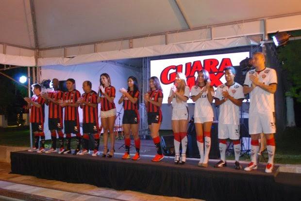 Vitória apresenta novo uniforme para a temporada