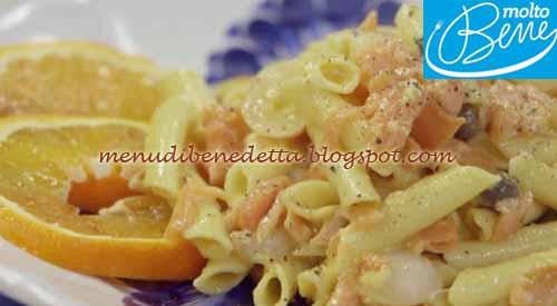 Carbonara di trota salmonata ricetta Parodi per Molto Bene su Real Time