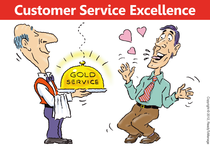 gold and customer service
