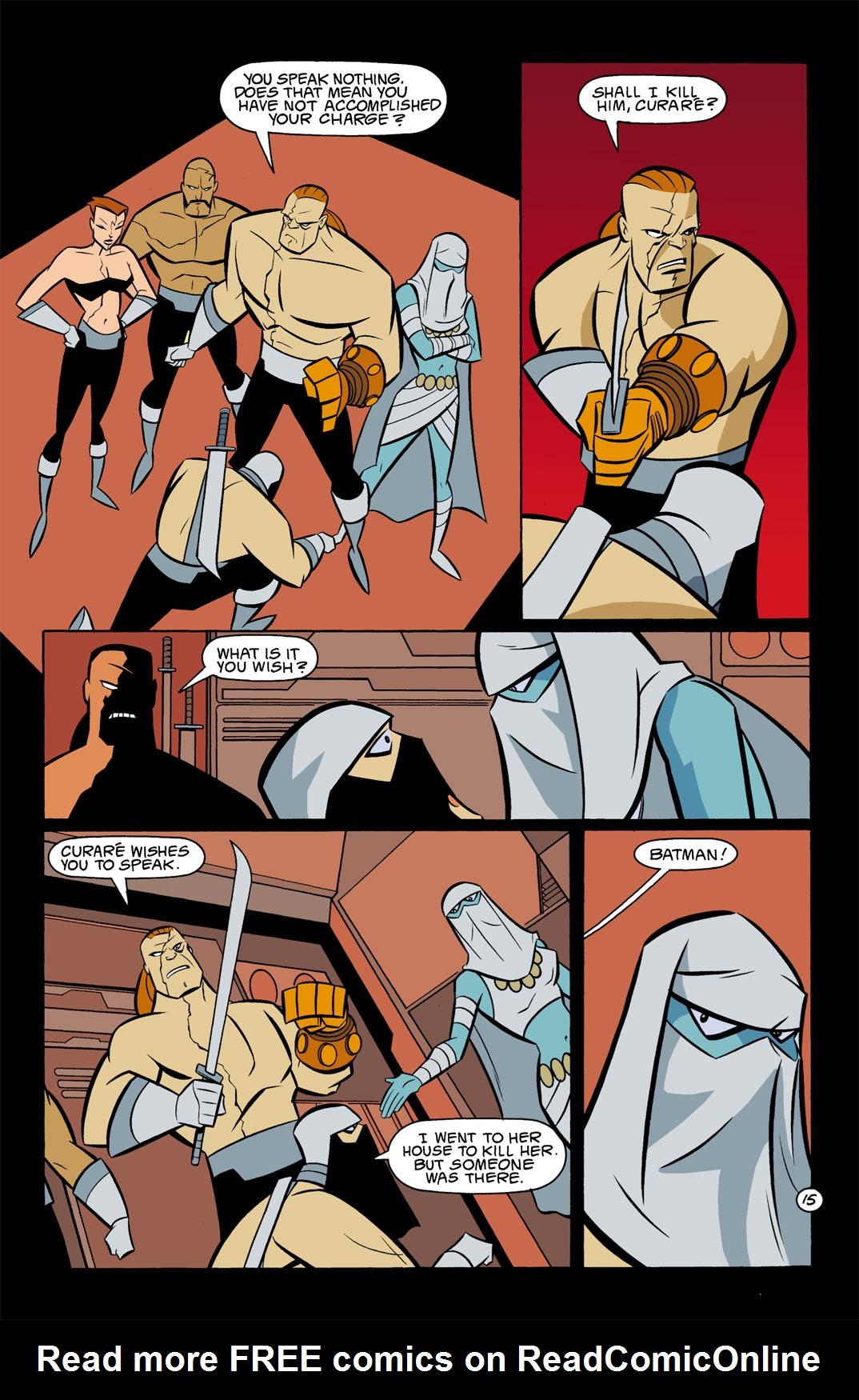 Batman Beyond [II] Issue #9 #9 - English 16