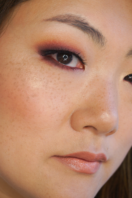 Makeup for ever artist shadow morello cherry makeup tutorial asian monolid