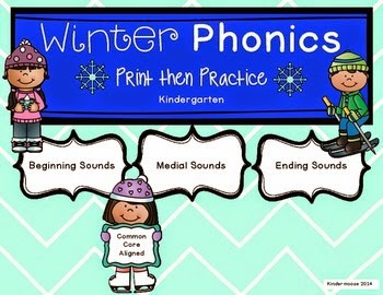 https://www.teacherspayteachers.com/Product/Kindergarten-Winter-Phonics-Print-then-Practice-1614218