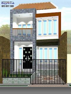 Dibawah ini beberapa contoh design rumah minimalis :