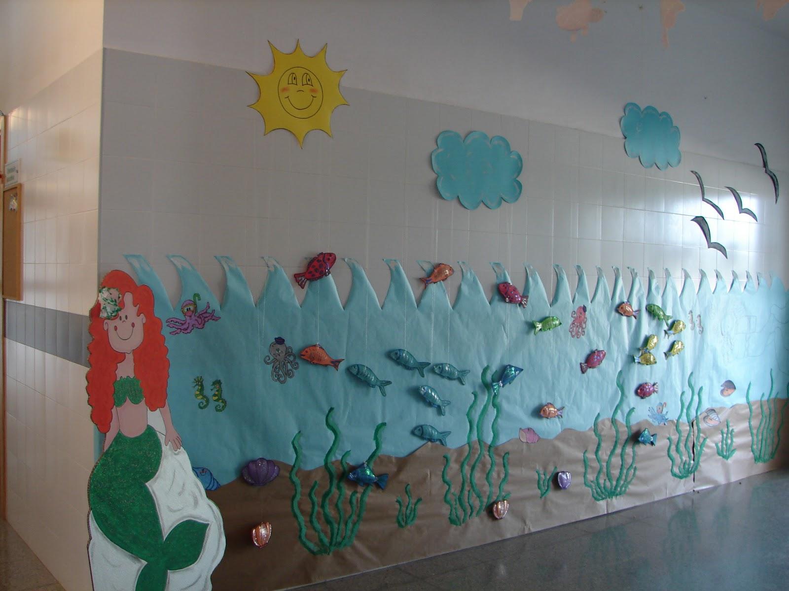 Cuidemos la costa e e i san isidro for Decoracion para puertas de preescolar