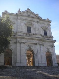 La chiesa di S.Gregorio al Celio