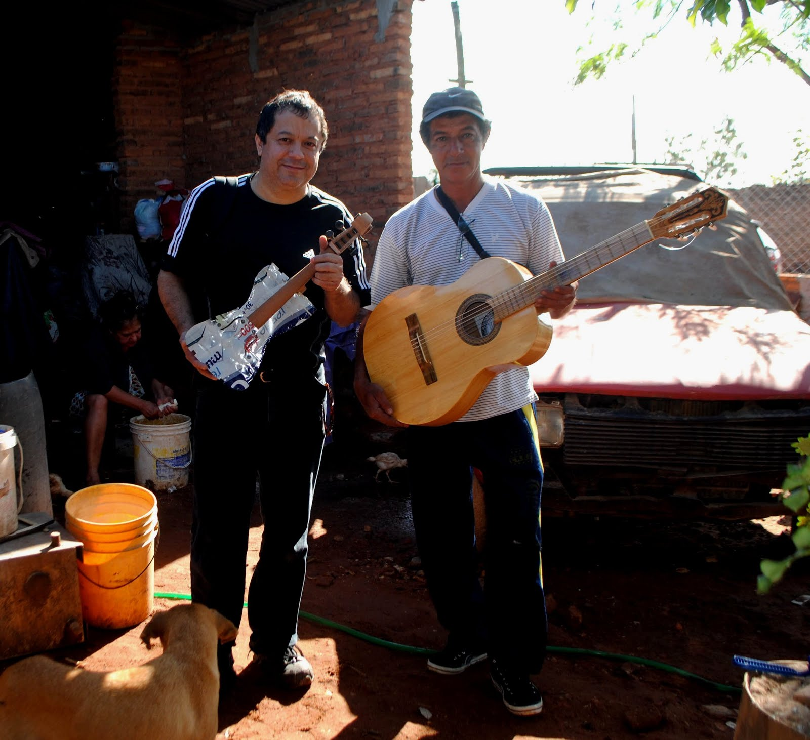 El luthier de Cateura