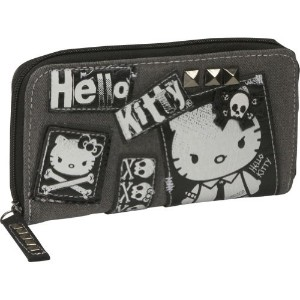 Hello Kitty angry punk purse wallet