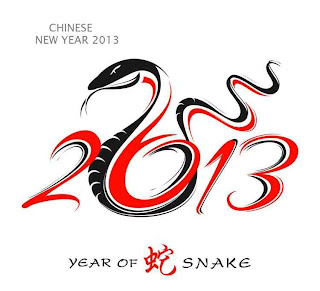 Happy Chinese New Year Snake 2013