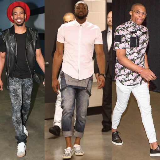 NBA Playoffs Fashion