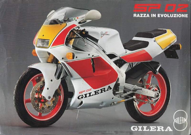 Gilera SP 02 125cc Two Stroke Motorbike