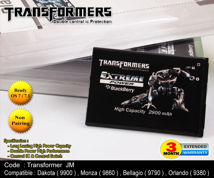 Baterai Blackberry Transformer JM 1