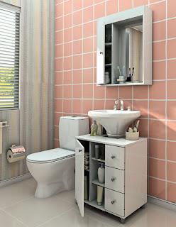 Gabinete para banheiro 10