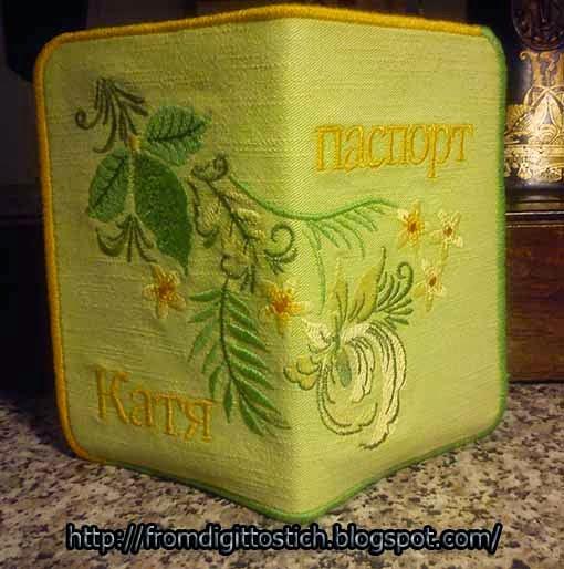 вышивка хохломы