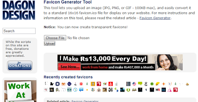 3 Websites to create Favicon for your Website3 Websites to create Favicon for your Website