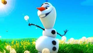 Gambar cantik Olaf Frozen