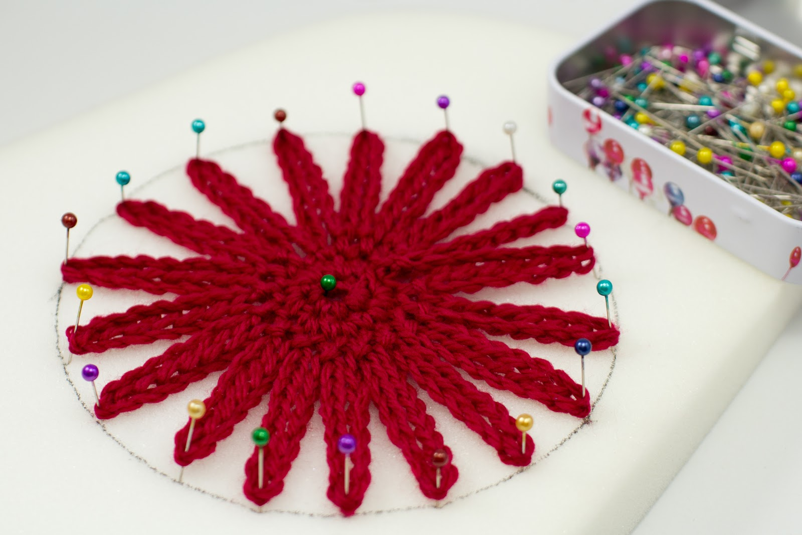 Crochet Xmas Flower Pattern : Hopeful Honey Craft, Crochet, Create: Season Of Giving ...