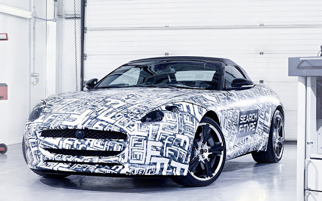 2014.Jaguar F-Type will consist of all its new supercharged 3.0 litre V6 and another new version of its supercharged 5.0 litre V8 engine