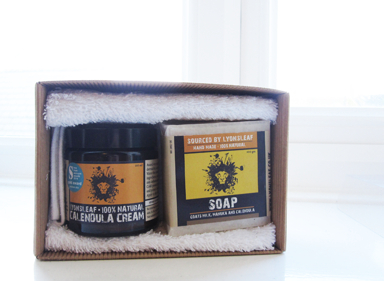 Lyonsleaf Soothing Calendula Skincare Gift Set review