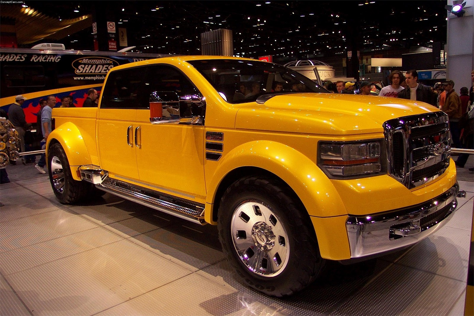 ford f 350 tonka concept ford f 350 tuning b gsportruck. Black Bedroom Furniture Sets. Home Design Ideas