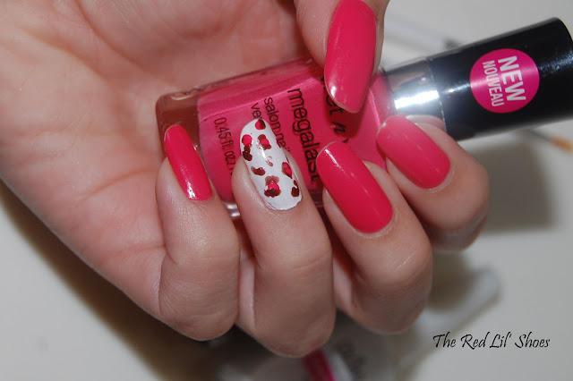 21 agosto 2012 unhas de oncinha rosa nail art liz albuquerque