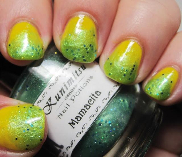 Julep Daisy with Nail Potions by Kunimitsu Mamacita