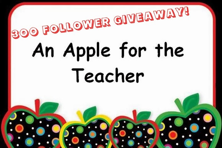 http://applefortheteach.blogspot.com/2014/02/300-follower-giveaway.html