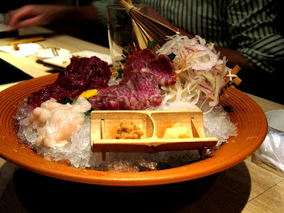 Horsemeat Sashimi